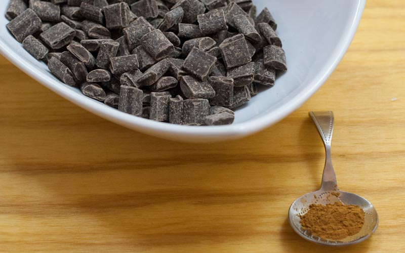 Chocolate and the secret ingredient cinnamon