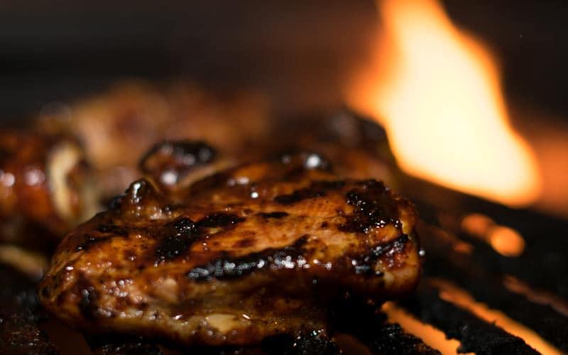 Chicken On Fire