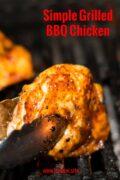 Grilled BBQ Chicken Pinterst Single
