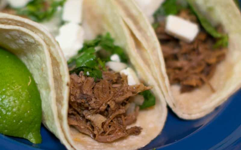 Tender Slow Cooked Pork Tacos