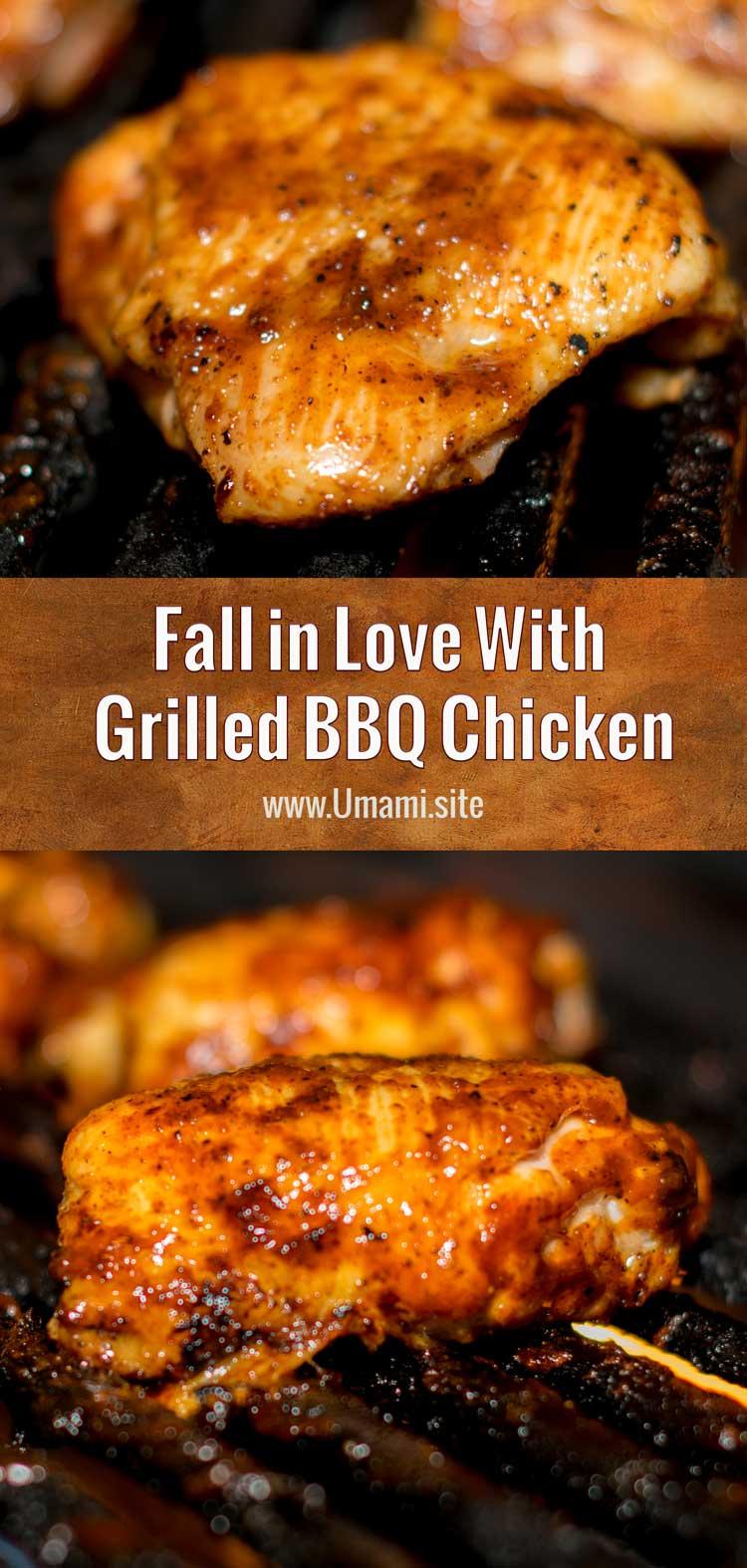 Love Grilled BBQ Chicken Pinterest