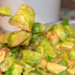 Sriracha Laced Brussels Sprouts