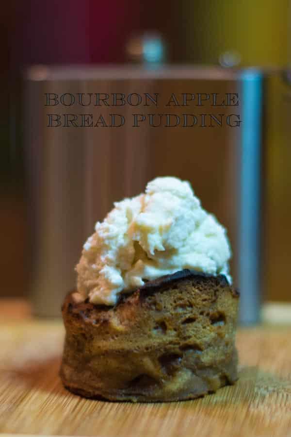 Bourbon Apple Bread Pudding Pinterest