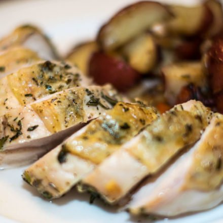 Rosemary and Thyme Roasted Chicken