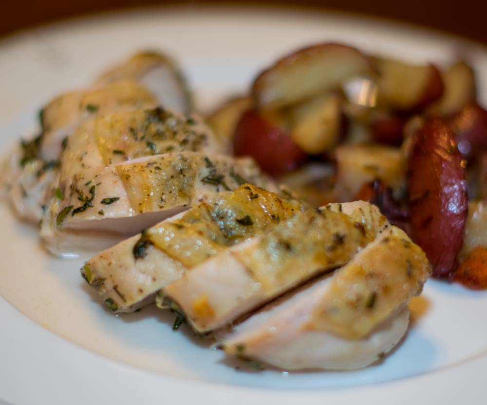 Roasted Chicken Breasts Featured