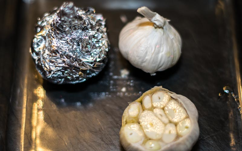 Three Stages Of Garlic