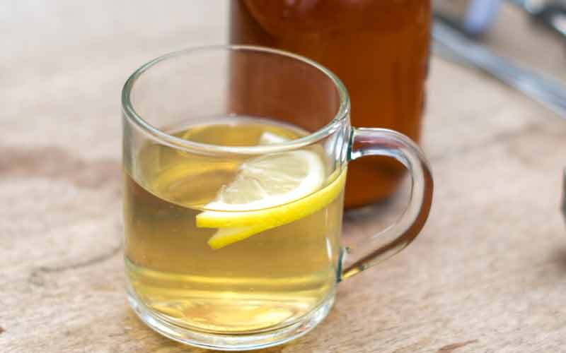 Maple Toddy On Table