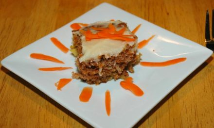 Great Tasting Carrot Cake With Half the Calories