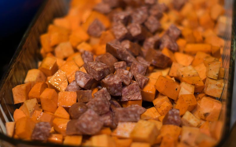 Sweet Potatoes Ready To Cook