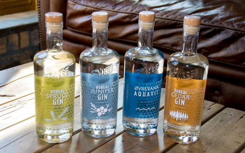 Vikre is creating a new set of spirits from the flavors of the North Shore