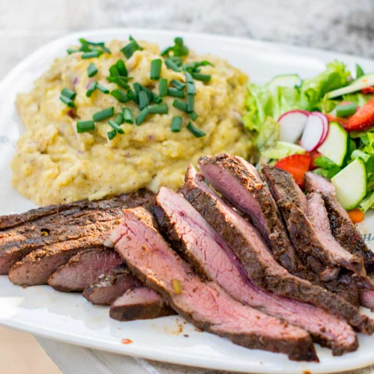 Sous Flank Steak Recipe Featured