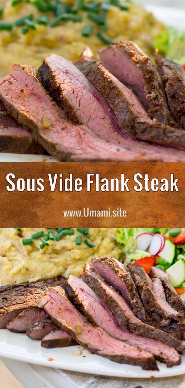 Sous Vide Flank Steak Pinterest