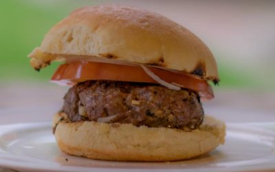 Simple Grilled Burgers