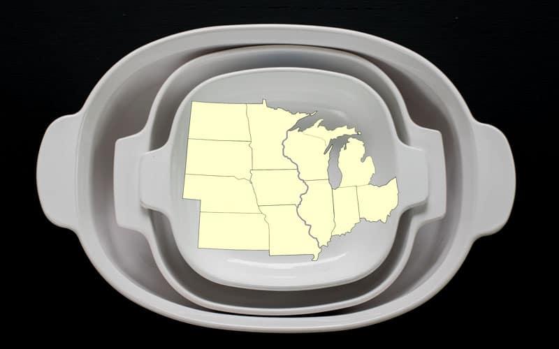 Regional Cuisine Map