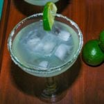 Margaritas with Freshly Squeezed Lime Juice