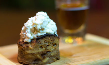 Bourbon Apple Bread Pudding