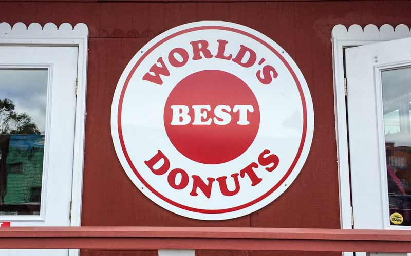 World's Best Donuts in Grand Marias