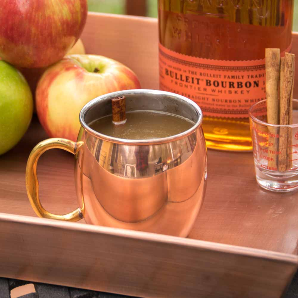 Hot Apple Cider with Bourbon recipe