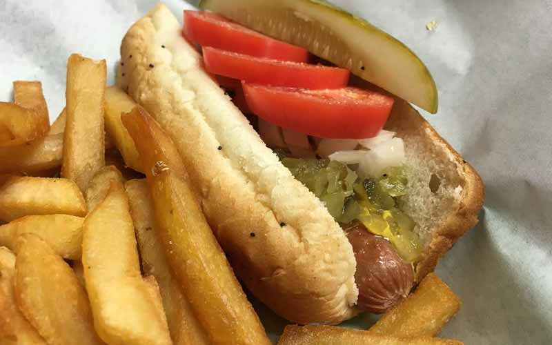 Hot dog from George's