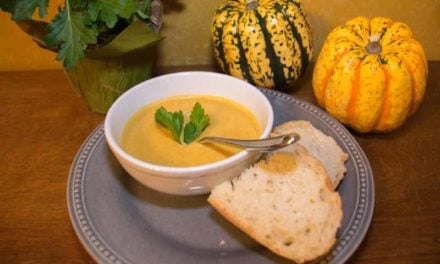 Roasted Squash and Pumpkin Soup