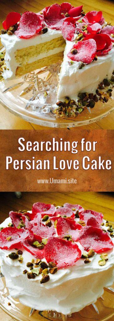 Persian Love Cake Pinterest