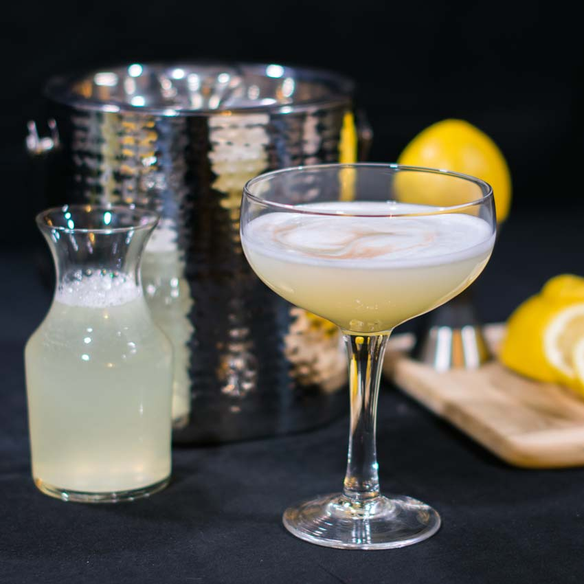 Vodka Sour Recipe Featured