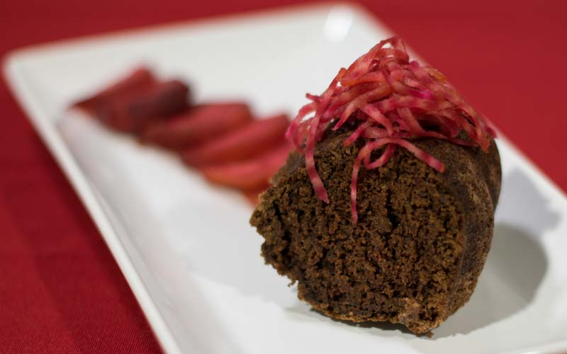 Making Friends or Enemies with Chocolate Beet Cake