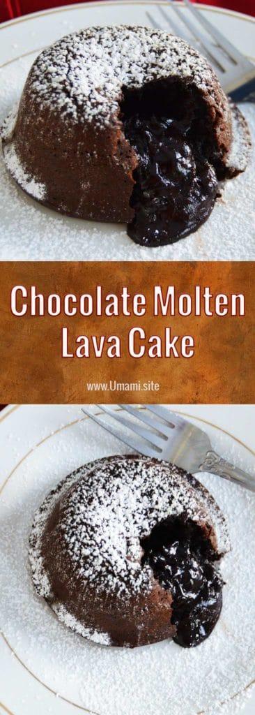 Chocolate Molten Lava Cake Recipe