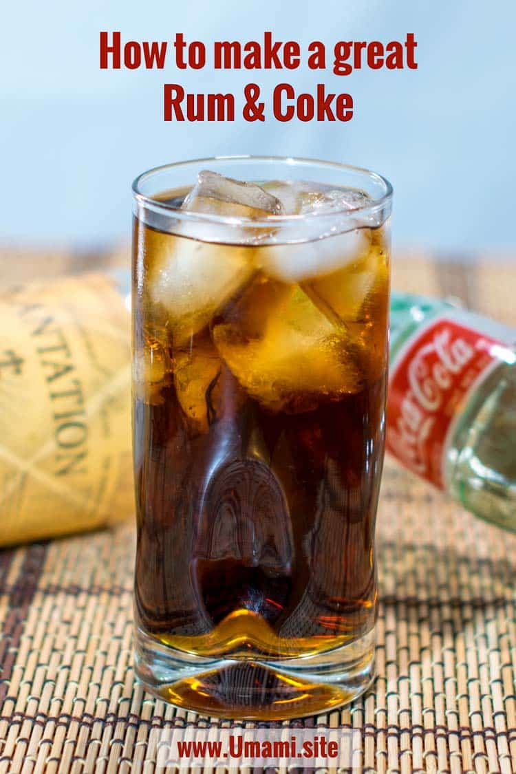 Rum & Coke Pinterest Single