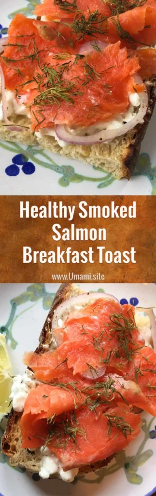 Smoked Salamon Breakfast Toast Pinterest