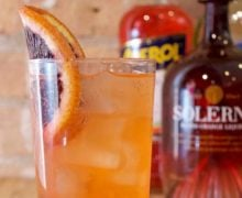 Blood Orange Aperol Collins