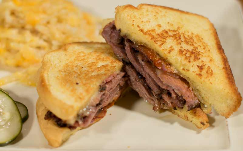 Big Bad Brisket Sandwich