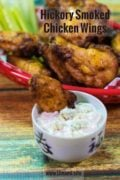 Hickory Smoked Chicken Wings Pinterest Single