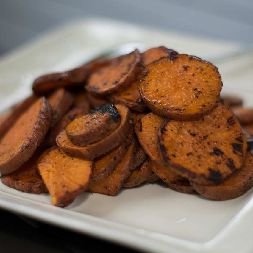 Grilled Sweet Potatoes Recipes
