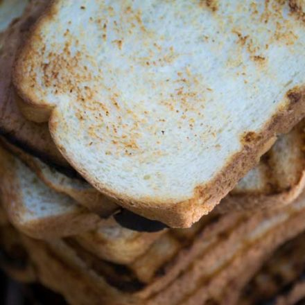 The white bread test is a great way to see how your grill really works