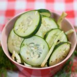 Refrigerator Pickles with Fennel and Dill