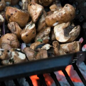 Grilled Mushrooms with Fresh Herbs