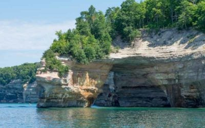 The Sleepover: Hiking Pictured Rocks National Lakeshore