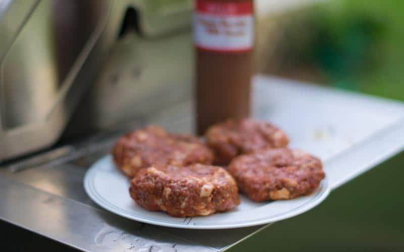 Bacon Bourbon BBQ Burgers
