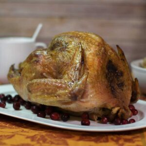 Grilled Turkey with Fresh Herbs Recipe