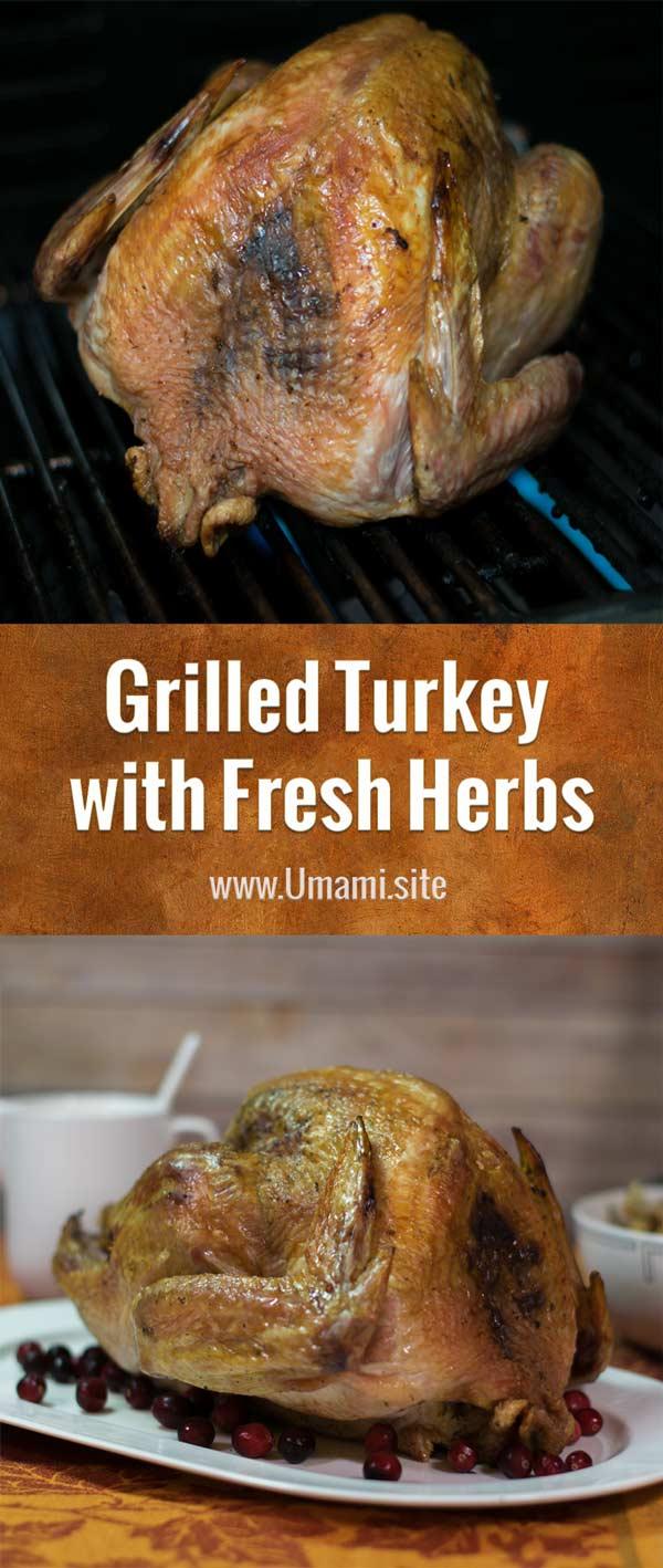 Grilled Turkey With Fresh Herbs Pinterest Updated