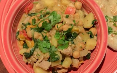 Chicken, Potato and Chickpea Curry