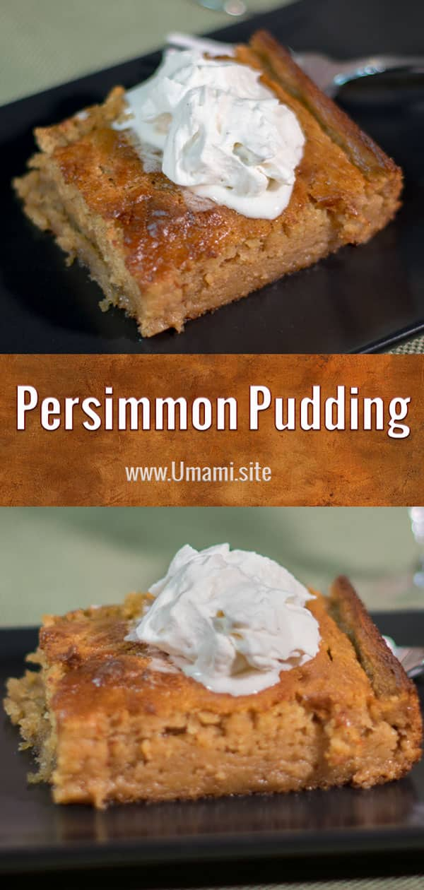 Persimmon Pudding Pinterest Updated
