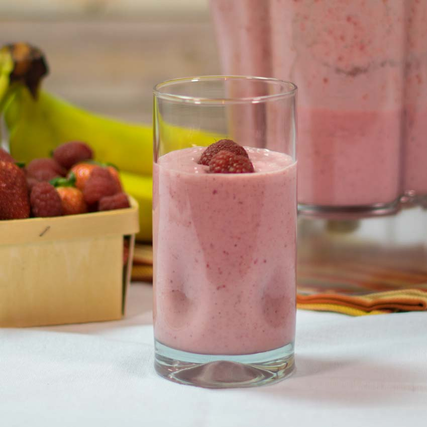 Strawberry Raspberry Smoothie Recipe