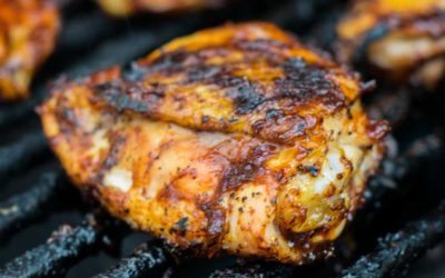 Grilled Ancho Chili Rubbed Chicken