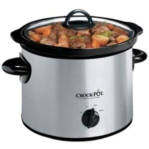 Crock-Pot 3-Quart Round Manual Slow Cooker