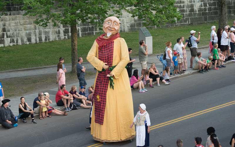 New France Festival Parade