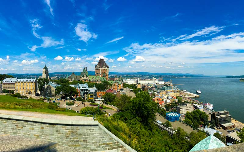 Old Quebec from the Citadel