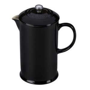 Le Creuset Stoneware 27 Ounce French Press, White