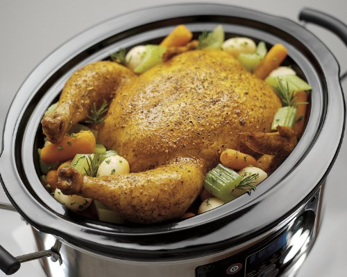 Hamilton Beach Set 'n Forget Programmable Slow Cooker With Temperature Probe, 6 Quart (33969A)